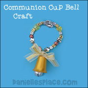 Communion Cup Christmas Bell