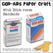 God Aids Bandaids Craft
