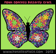 Confetti New Life Butterfly
