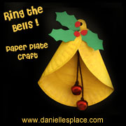 """""""Ring the Bells!"""" Paper Plate Craft"""