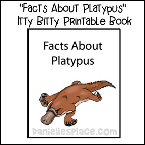Facts About Platypus Itty Bitty Book
