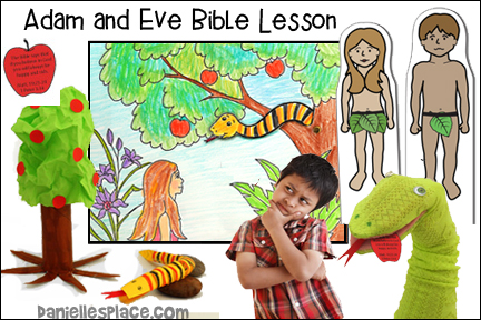Adam and Eve Bible Lesson for Children