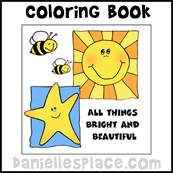 """""""All Things Bright and Beautiful"""" Book"""