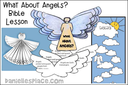 What About Angels? Bible Lesson