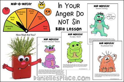 In Your Anger Do Not Sin Bible Lesson