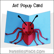 Ant Pop Up Card