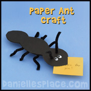 Paper Ant Craft