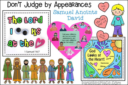 Don't Judge by Appearances - Samuel Anoints David