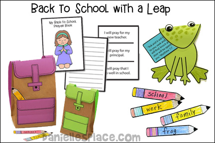 Back to School With a Leap Bible Lesson