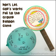 Paper Plate Paddle Craft and Game