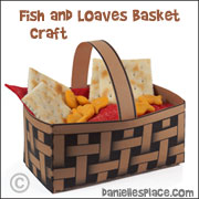Fish and Loaves Basket Craft