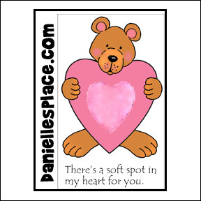 Soft Spot in My Heart Valentine's Day Card
