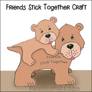 """Bear One Another's Burdens"" Bear Craft"
