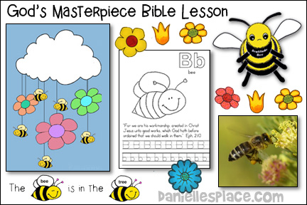 Bee God's Masterpiece Bible Lesson