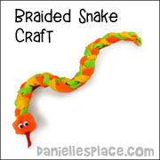 Braided Snake Craft