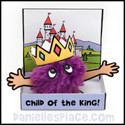 Child of the King Pompom Craft