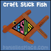 Craft Stick Fish