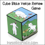 Cube Bible Verse Review Game