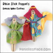Dorcas Craft Stick Puppets