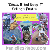 """Dress It and Keep It"" Collage Poster"