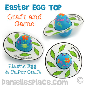 Easter Egg Top - Craft and Game