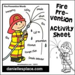 Fire Prevention Activity Sheet