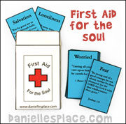 First Aid for the Soul Band Aid Envelope Craft