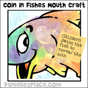 Fish Bible Activity Sheet Picture