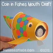 Fish Craft with a Coin in Mouth