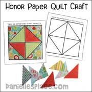 Honor Paper Quilt Craft