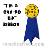 I'm a Can Do Kid Award Ribbon
