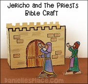 Jericho Priests Bible Craft
