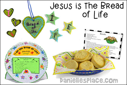 Jesus - Bread of Life Bible Lesson