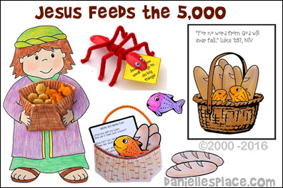 Jesus Feeds the 5,000 Bible Lesson