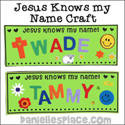 Jesus Knows My Name Sign