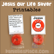 Jesus Our Life Saver Candy Treat