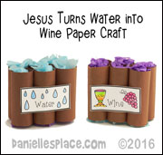 Jesus Turns Water To Wine Pots