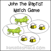 John the Baptist Match Game