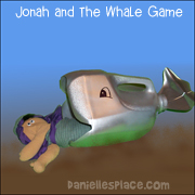 Jonah and the Whale Milk Jug Fish Game