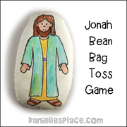Jonah and the Whale Bean Bag Toss Game