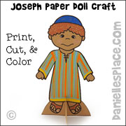 Joseph Paper Doll Craft