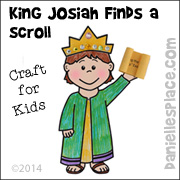 King Josiah Finds A Scroll Craft Picture