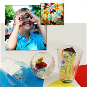 Kaleidoscope Cup Craft