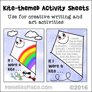 Kite Activity Sheets