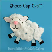Lamb of God Cup Craft