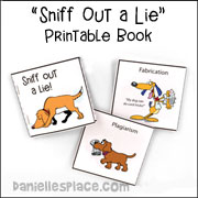 Sniff Out a Lie Printable Book