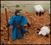 Moses Clothespin Sheep