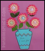 Mothers Day Craft Vase
