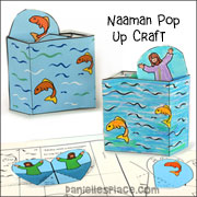 Naaman Pop Up Craft