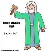 Noah Paper Doll